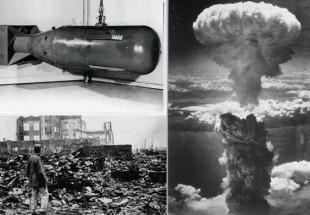 سالگرد کشتار ۲۲۰هزار ژاپنی در بمباران اتمی شیطان بزرگ