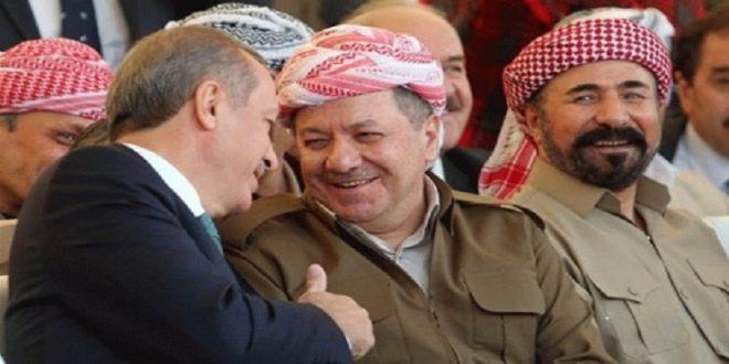 پشتیبانی ارتش ترکیه از پیشمرگه در جریان عملیات آزادسازی موصل