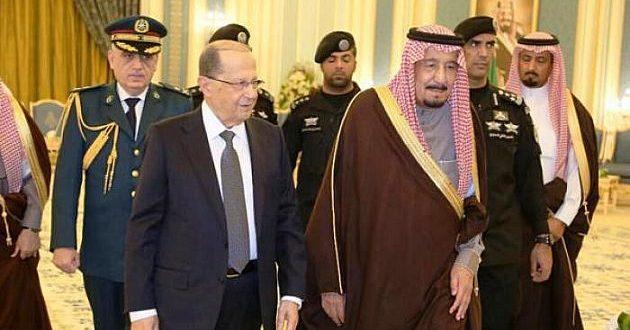حرفهای ضدایرانی ملک سلمان که میشل عون را شوکه کرد