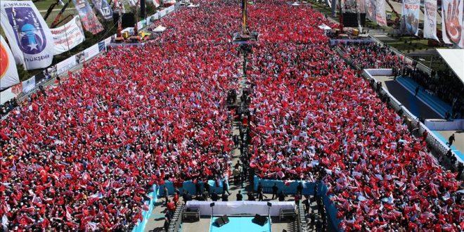 اردوغان: مردم ترکیه درس بزرگی به رهبران اروپا خواهند داد