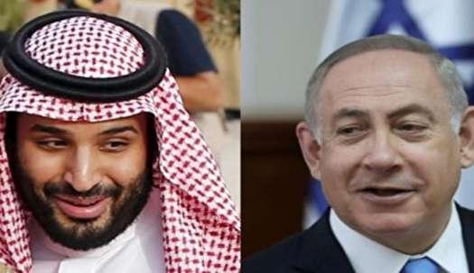 افشای دیدار نتانیاهو با بن سلمان در امان