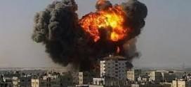 سلاخی مردم سوریه  با بمب های بشکه ای.